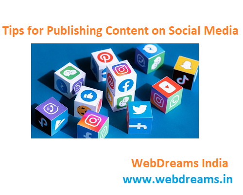 Tips for Publishing Content on Social Media